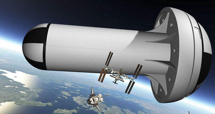Projekt gigantycznej stacji kosmicznej ze sztuczną grawitacją firmy United Space Structures