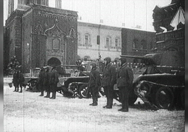 Defilada Armii Czerwonej