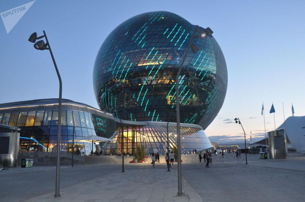 Muzeum przyszłości Nurlem w Astanie