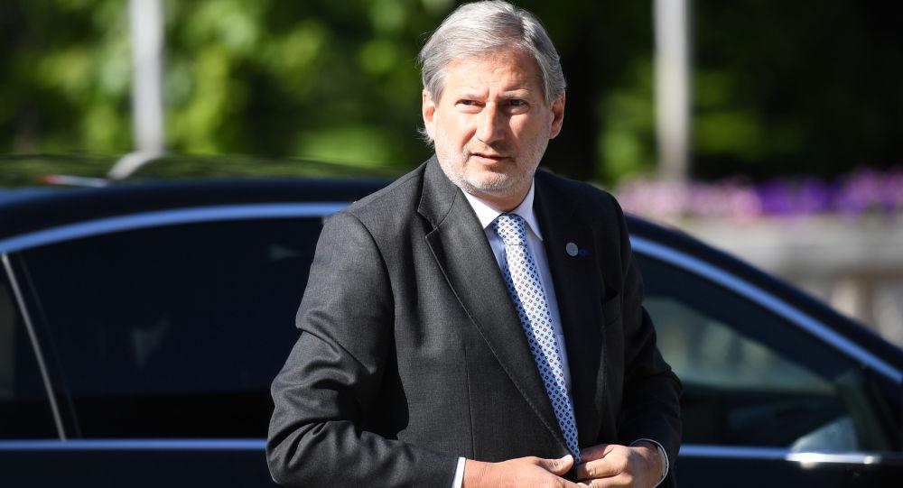 Unijny komisarz ds. Europejskiej Polityki Sąsiedztwa i negocjacji akcesyjnych Johannes Hahn