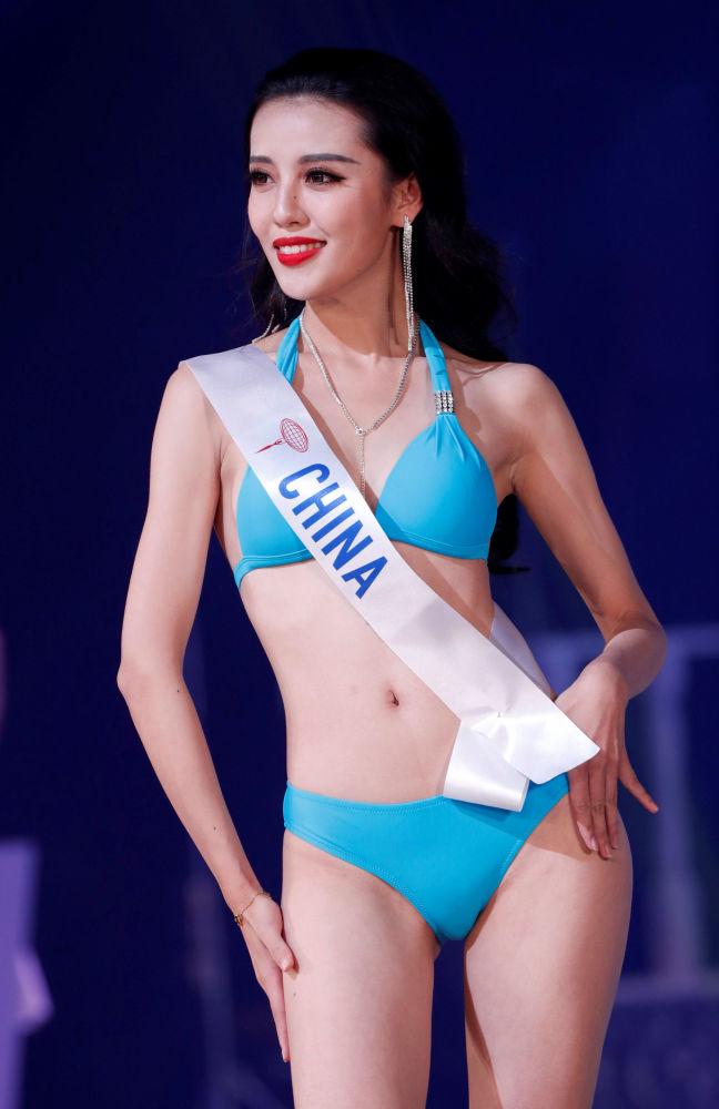 """Chinka Wang Chaoyuan na konkursie piękności """"Miss International – 2018"""" w Tokio, Japonia"""