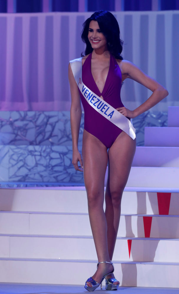 """Zwyciężczyni konkursu piękności """"Miss International – 2018"""" Mariem Claret Velazco Garcia z Wenezueli"""