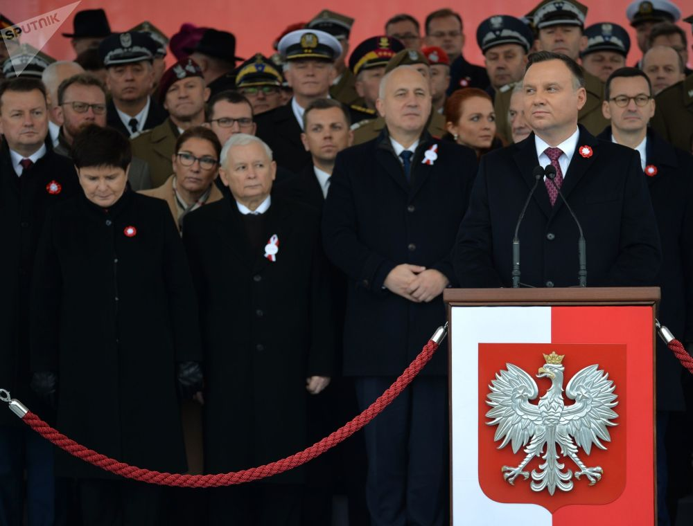 Marsz w Warszawie na 100-lecie odzyskania niepodległości