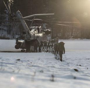 Manewry NATO Trident Juncture w Norwegii