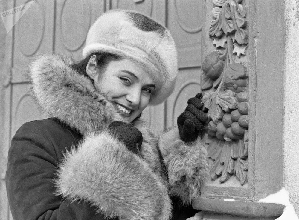 Dziewczyna w futrzanej czapce, 1979 rok