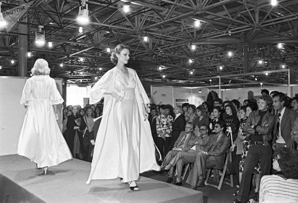 Pokaz mody francuskiej w Moskwie, 1979 rok