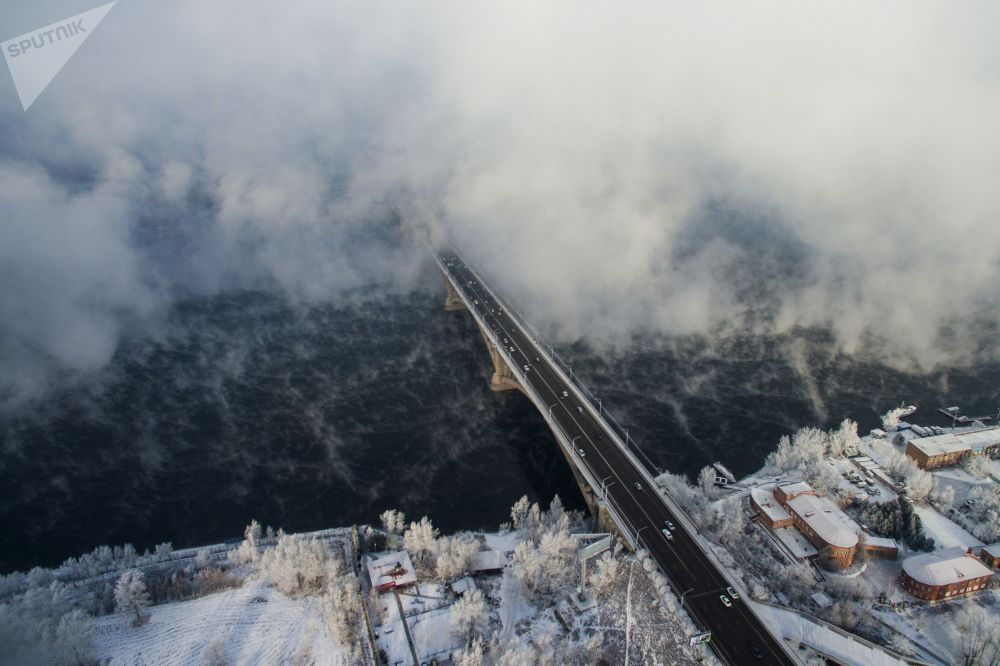 Most przez Jenisiej