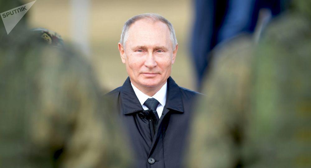 Władimir Putin na manewrach Wostok 2018