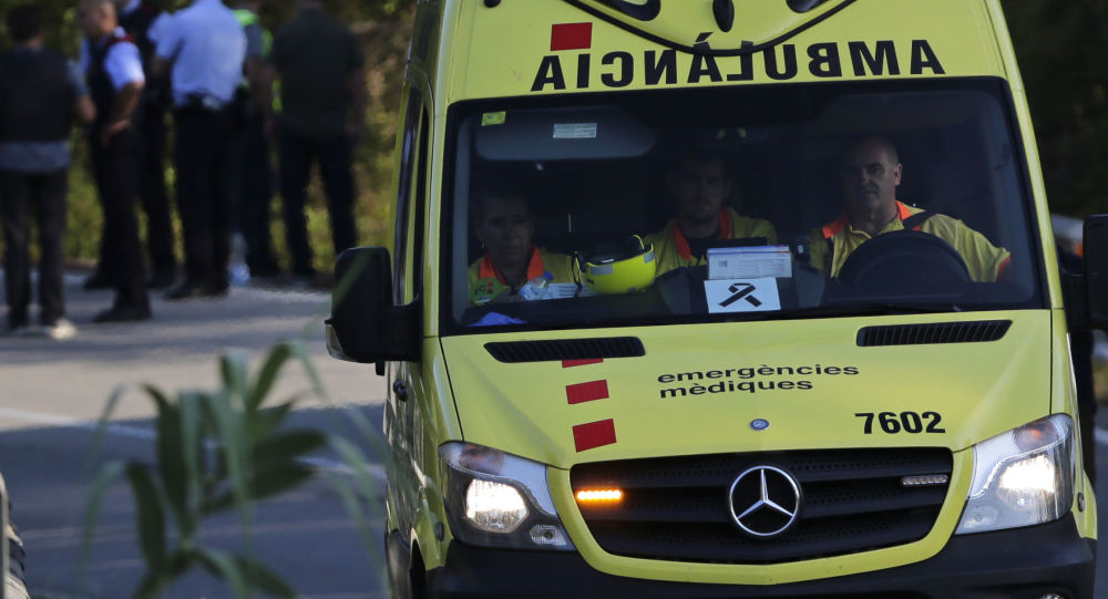 Pogotowie ratunkowe w Hiszpanii. Zdjęcie archiwalne
