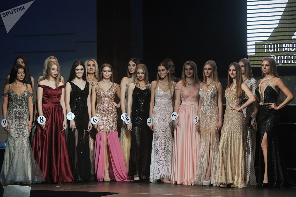 Finał konkursu piękności Top Model Rosji 2018 i Top Model PLUS 2018