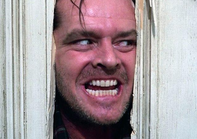 Kadr z filmu Lśnienie