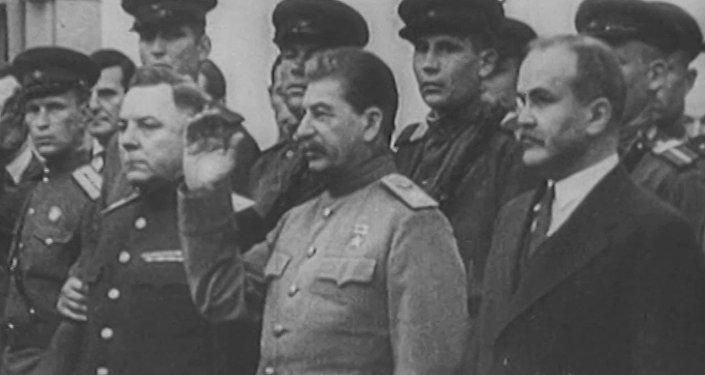 Historyczne spotkanie Roosevelta, Churchilla i Stalina w Teheranie