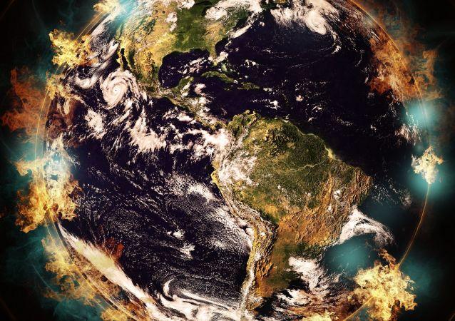 Planeta Ziemia w ogniu