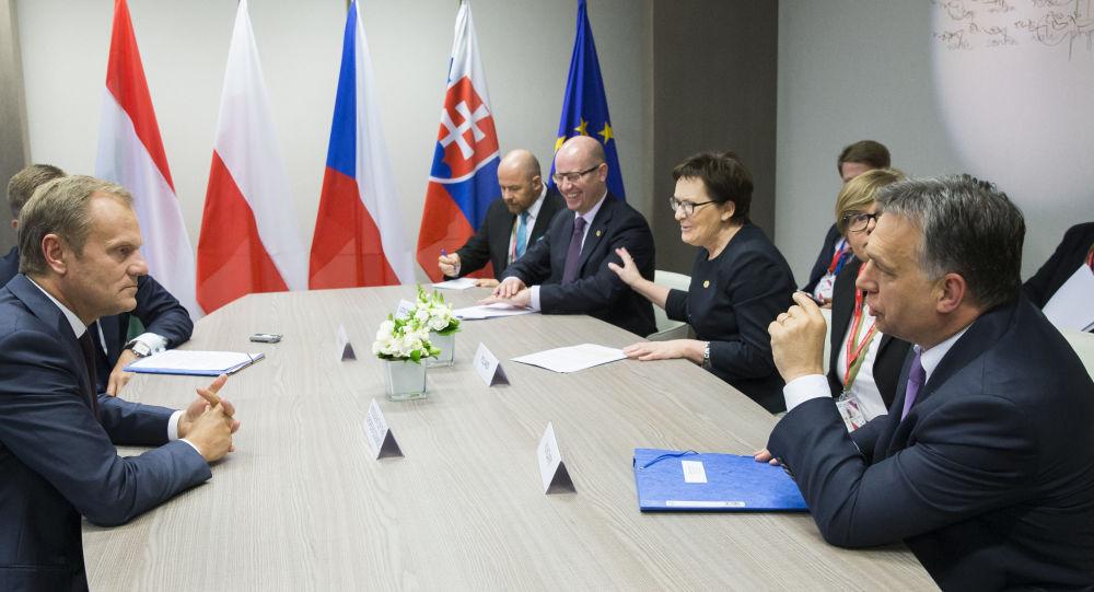 Spotkanie Grupy Wyszechradzkiej przed szczytem w UE w Brukseli