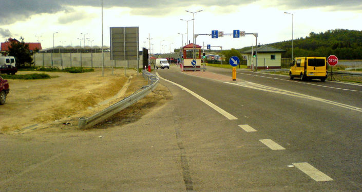 Przejście graniczne Hrebenne na polsko-ukraińskiej granicy