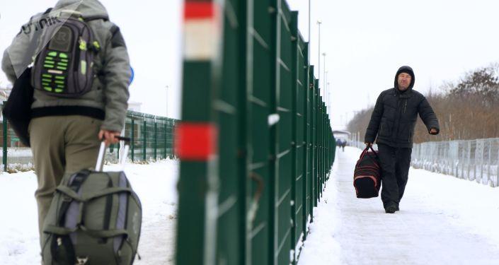 Przejście graniczne Niechotiejewka na granicy rosyjsko-ukraińskiej