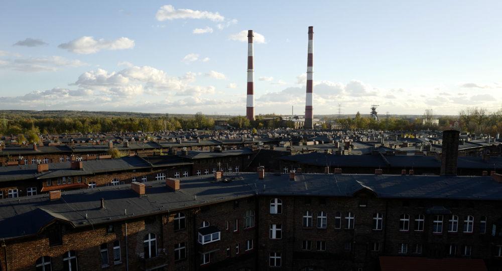 Kominy elektrociepłowni w Katowicach