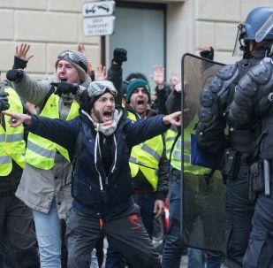 Protesty we Francji