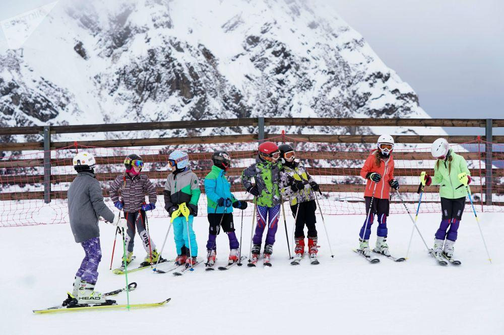 Otwarcie sezonu narciarskiego w Krasnej Polanie