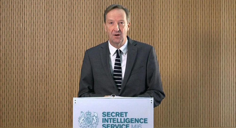 Szef brytyjskiej służby wywiadowczej MI6 Alex Younger