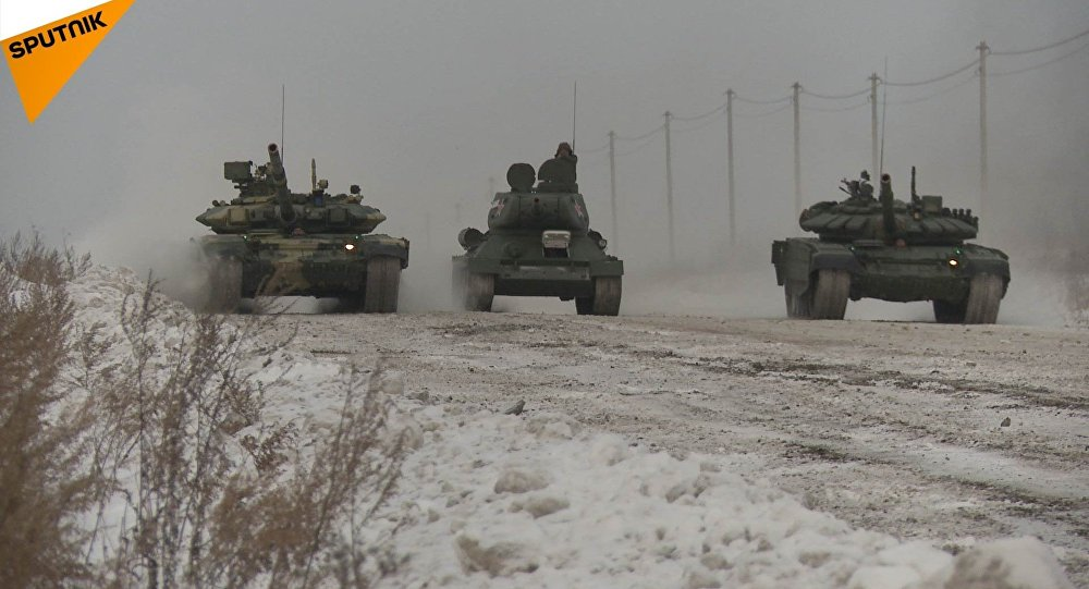 Wyścig czołgów przy -20ºC