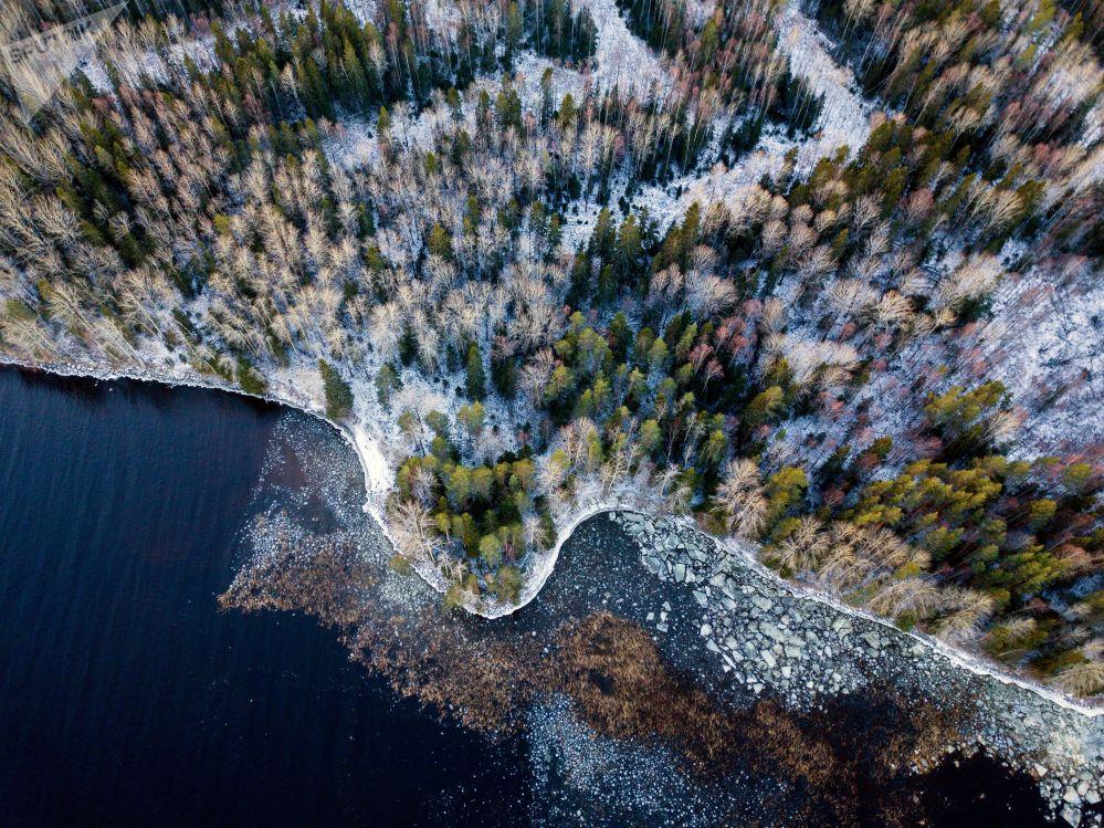 Jezioro Onega w Republice Karelii
