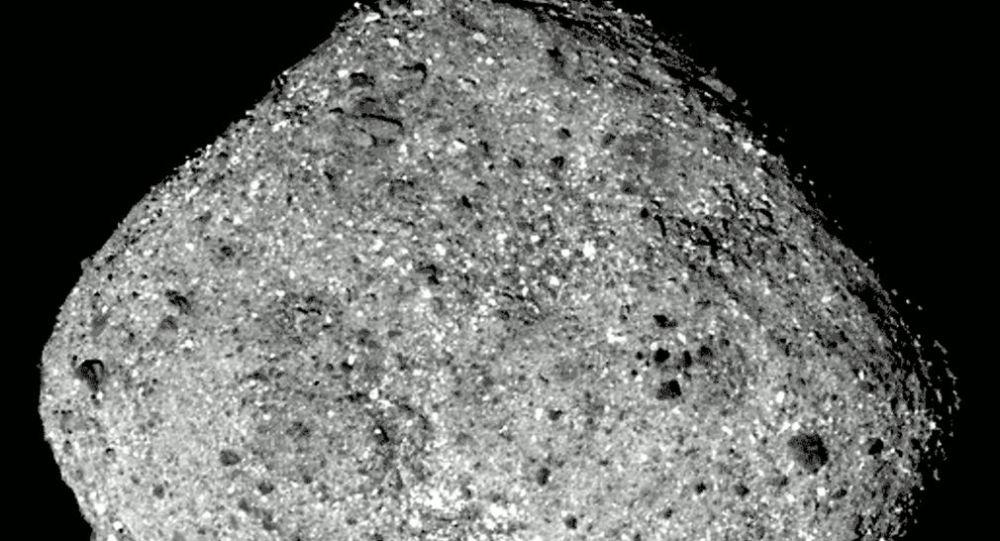 Asteroida Bennu zarejestrowana przez stację międzyplanetarną OSIRIS-REx