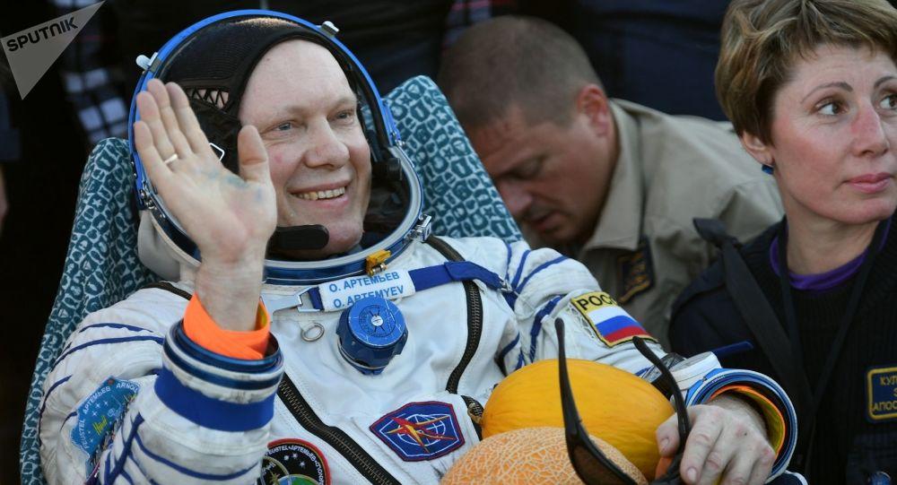 Kosmonauta Oleg Artemiew