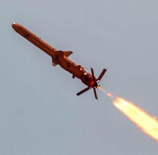 Testy ukraińskiego pocisku Neptun