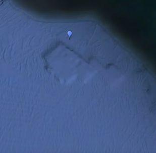 Na zdjęciach Google Earth znaleziono starożytne zatopione miasto