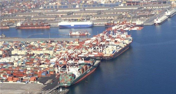 Port w Czabaharze, Iran