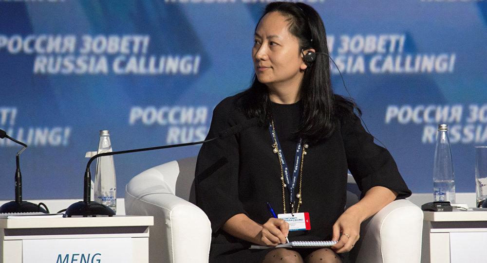 Meng Wanzhou - dyrektor finansowa koncernu Huawei