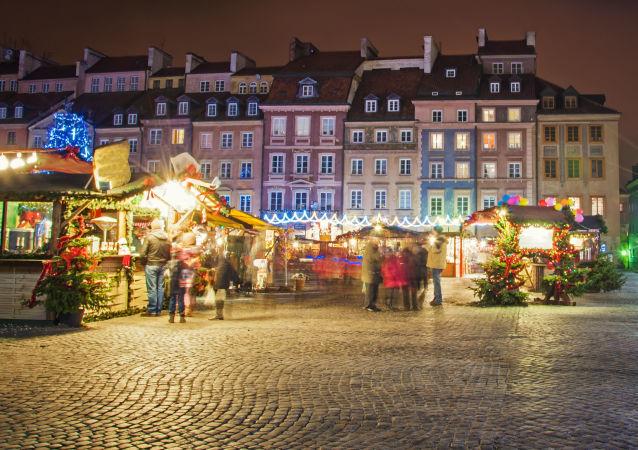 Jarmark bożonarodzeniowy w Warszawie