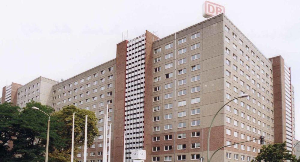 Siedziba Ministerstwa Bezpieczeństwa Publicznego Stasi w Berlinie. Zdjęcie archiwalne