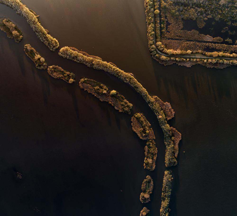 Rzeka Zala w zachodnich Węgrzech