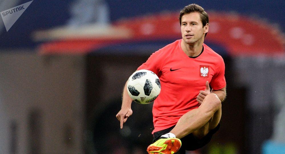 Polski piłkarz Grzegorz Krychowiak