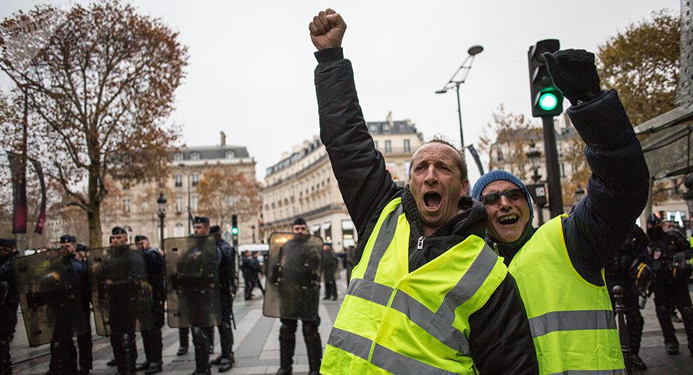 Protesty żółtych kamizelek, Paryż