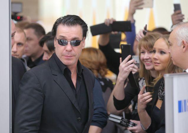 Lider zespołu Rammstein Till Lindemann