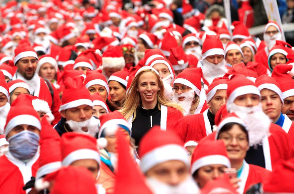 Wyścigi Świętych Mikołajów w Budapeszcie