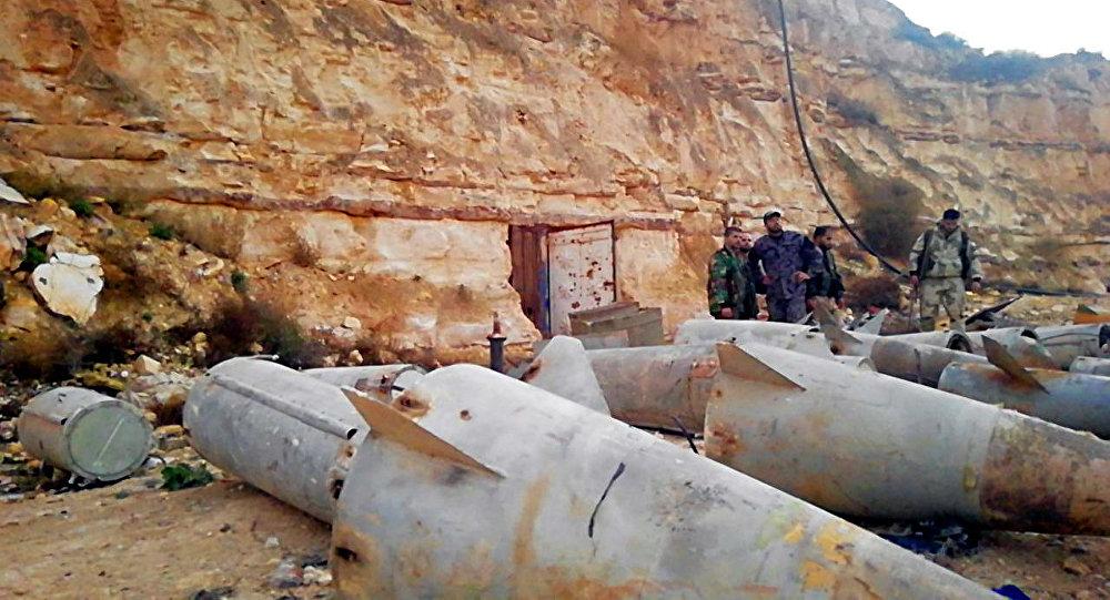 """Syria: pociski """"ziemia-powietrze"""" kilka metrów od granicy z Jordanią"""