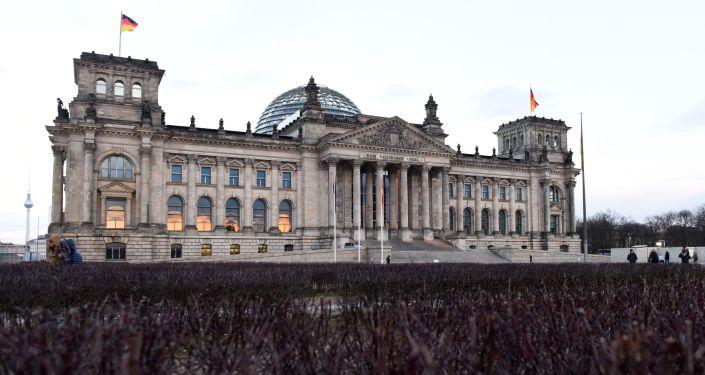 Budynek Bundestagu w Berlinie
