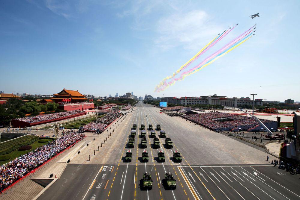 Defilada z okazji 70. rocznicy zwycięstwa w II wojnie światowej w Pekinie