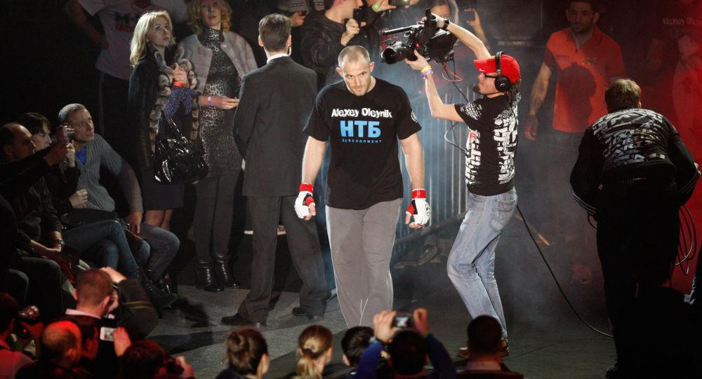 Rosyjski zawodnik walk mieszanych (MMA) Aleksiej Olejnik