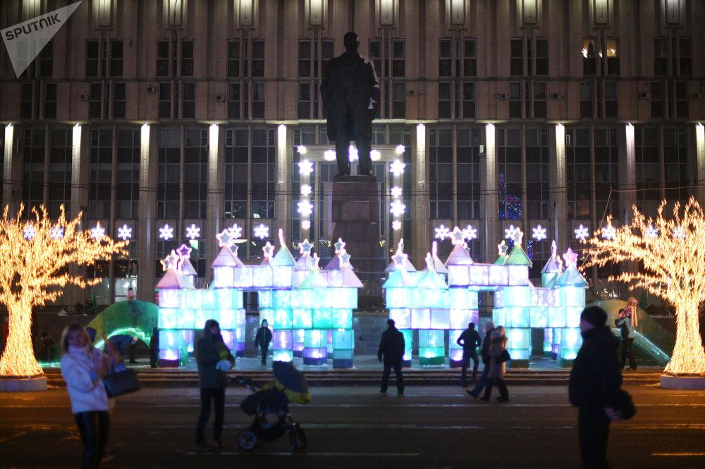 Plac Lenina w Tule