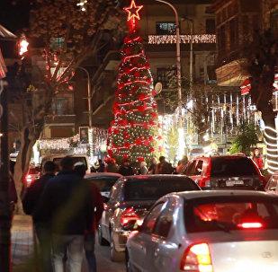 Damaszek świętuje Boże Narodzenie po wielu latach wojny