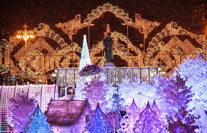Otwarcie moskiewskiego festiwalu Podróż do Bożego Narodzenia