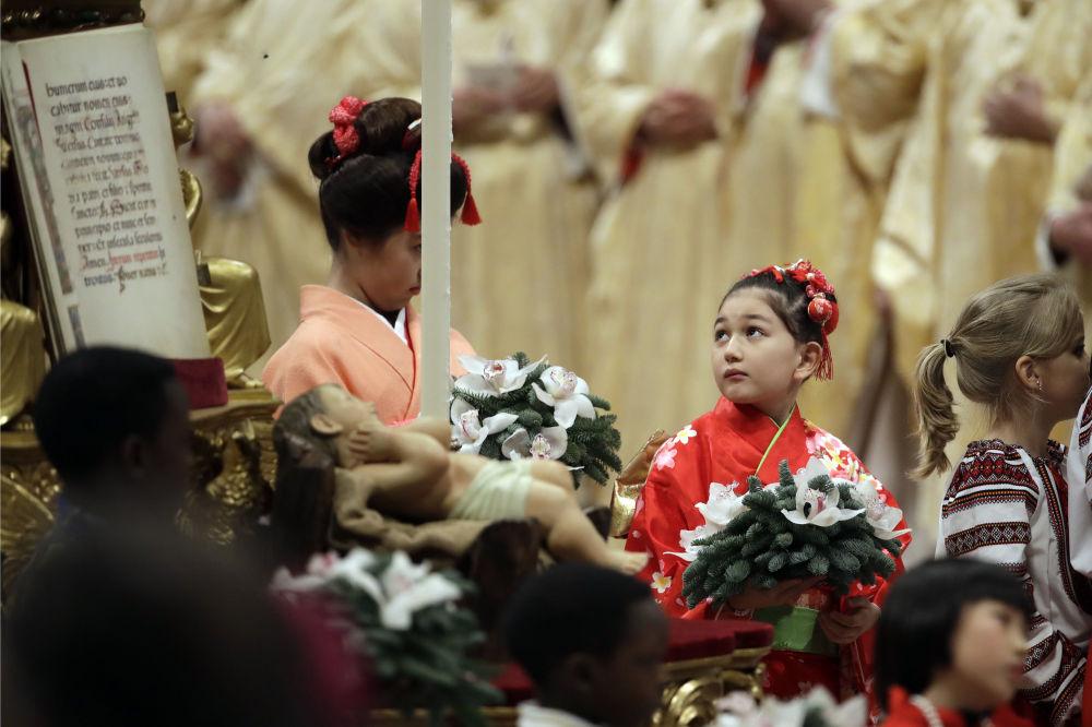 Msza święta w Watykanie