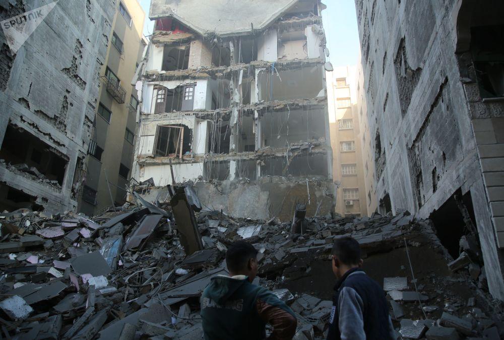Konsekwencje izraelskiego ataku rakietowego na Strefę Gazy