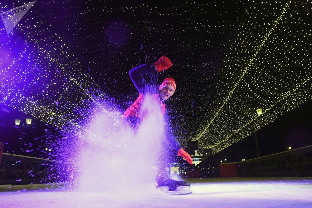 Otwarcie lodowiska w Kazaniu