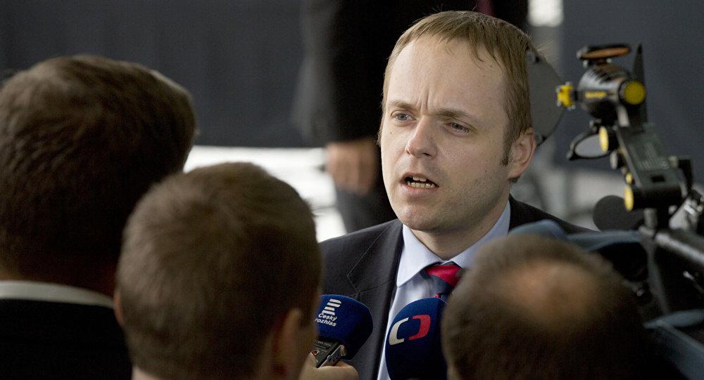 Wiceminister spraw zagranicznych Czech Jakub Kulhanek